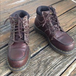 Dr Martens Docs Steel Toe Darby Boots M 9 W 10 42